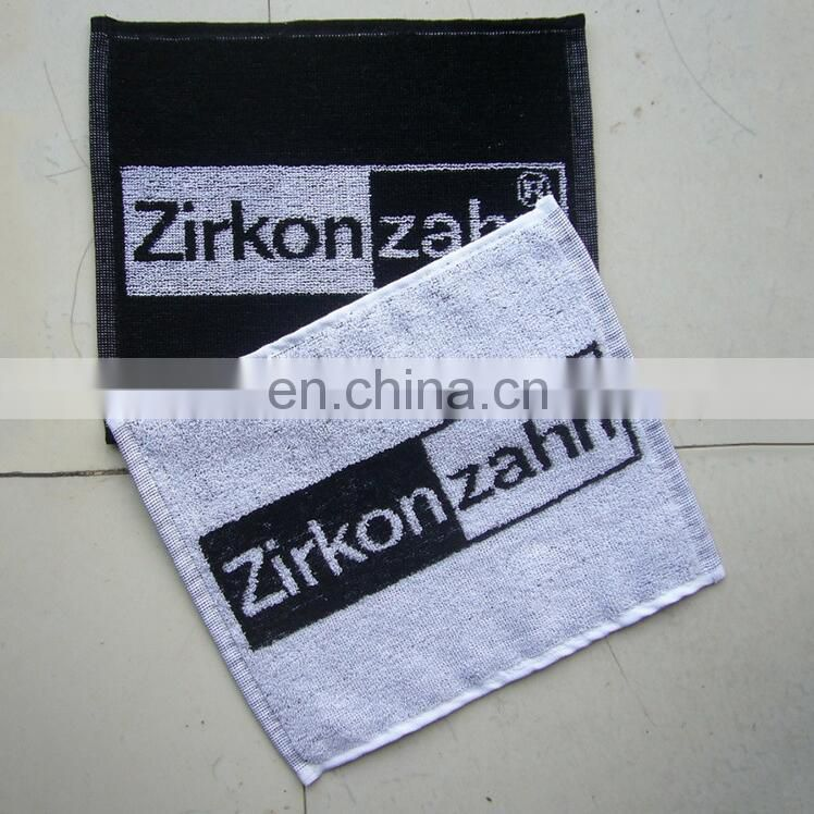 Jacquard bar towel with OEM service