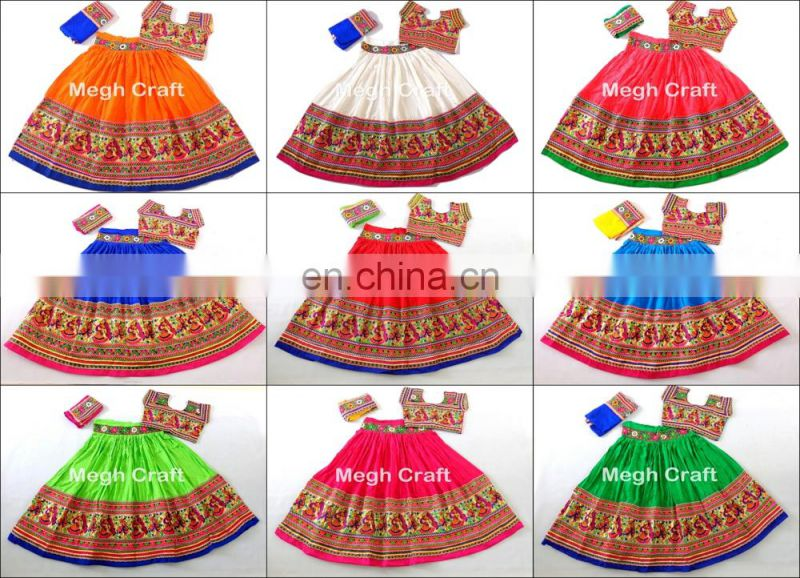 TRADITIONAL TRIBAL KUTCH EMBROIDERED CHOLI - NAVRATRI GUJARATI GARBA CHOLI