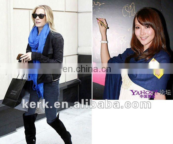 Stocks Sale! 2012 Fashion Pashmina Plain Design scarf and shawl, Stock 40 colors Wholesale Price,100% Pashmina