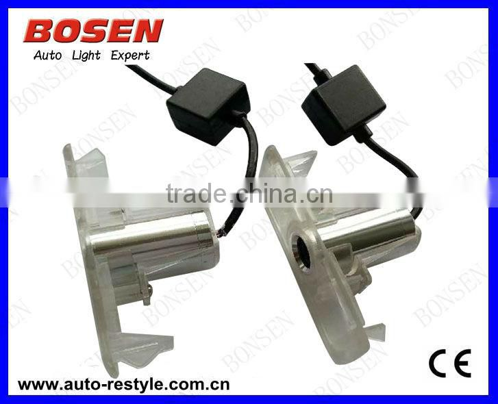 LED Shadow Light / LED Welcome Light / LED Car Logo Projector with Cree LED aluminum material