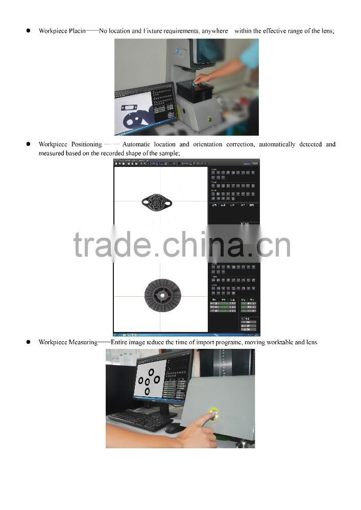 video measuring microscope	/	caroliner measuring system	/	precision measurement and inspection
