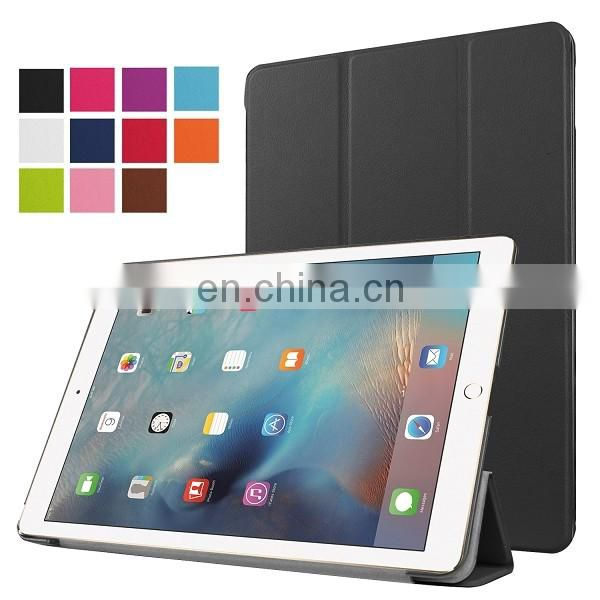 Tri-fold Stand PU Leather Case for iPad Pro 9.7inch, for iPad Pro 9.7 Case Wholesale