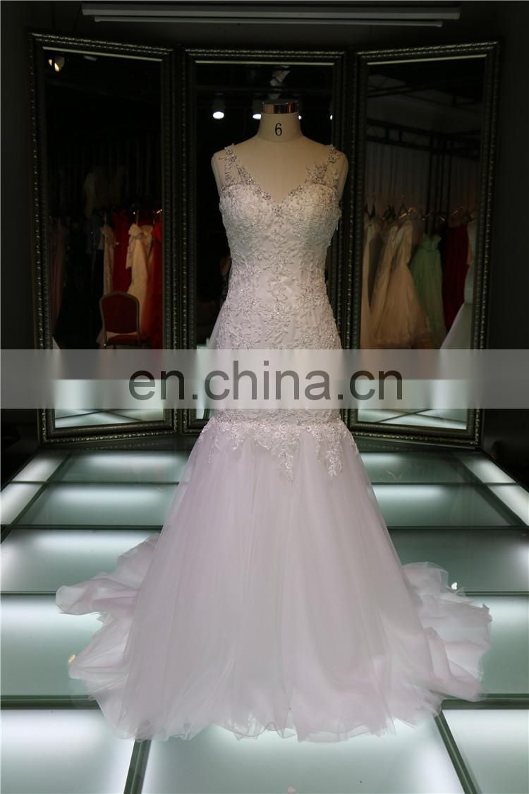 Dresses For Women Beaded Appliqued Venic Lace Organza Fabric Wedding Dresses Alibaba On Sale