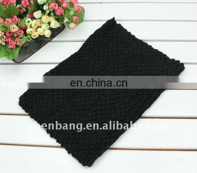 Unisex Solid Color Long Wool Wool Scarf