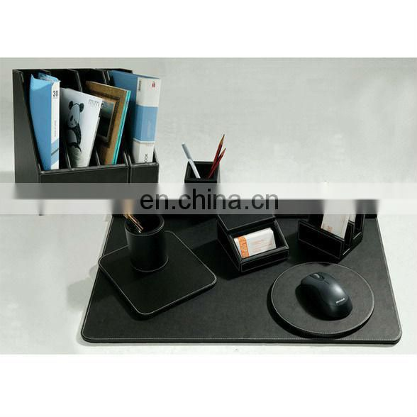 Leather Office Desk Accessories