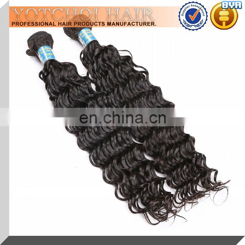 No Tangle Hair Braids 100% Virgin Brazilian Deep Wave Hair Styles