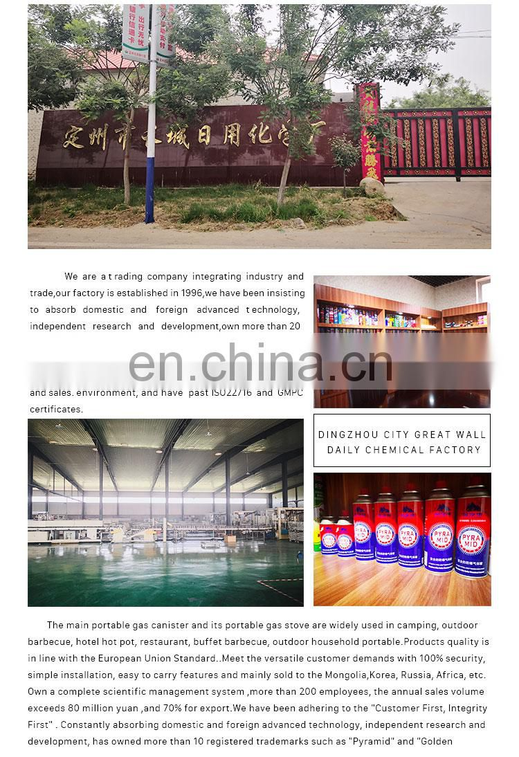 spray cans aerosol and tin aerosol can Hebei products