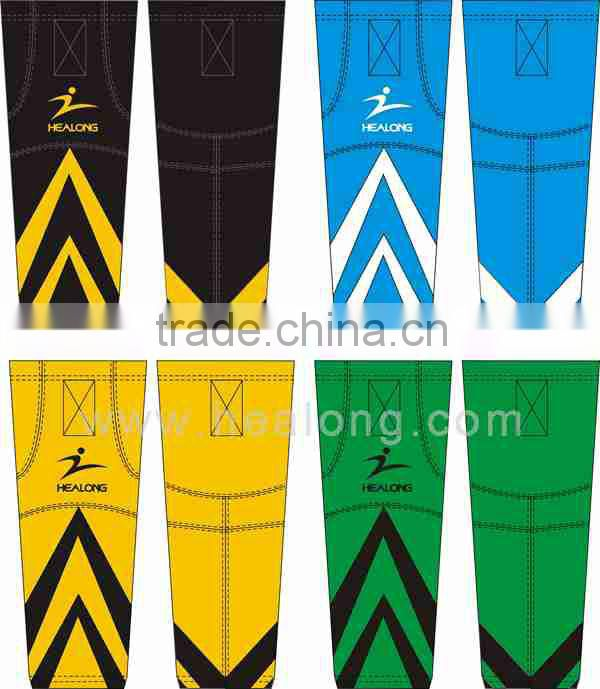Dye Sublimated Fashionable Multi-color Ice Hockey Socks Custom Design for Men Hot Sale