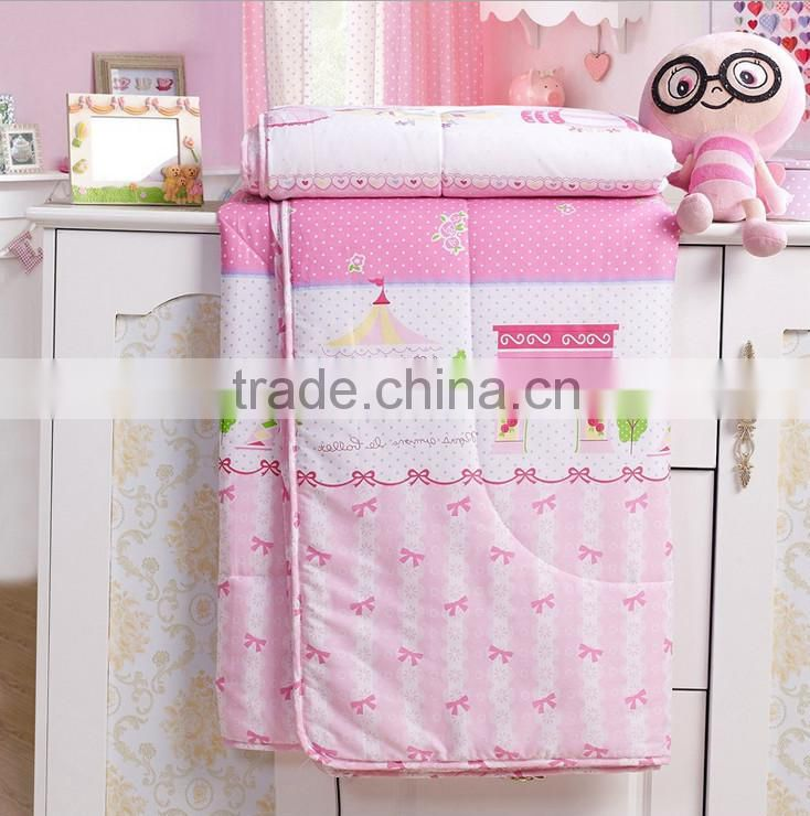 Luxury Home/hotel New Style cheap baby quilt designs Printed Microfiber 100% Silk Floss Quilt,Quiting Batting for sale