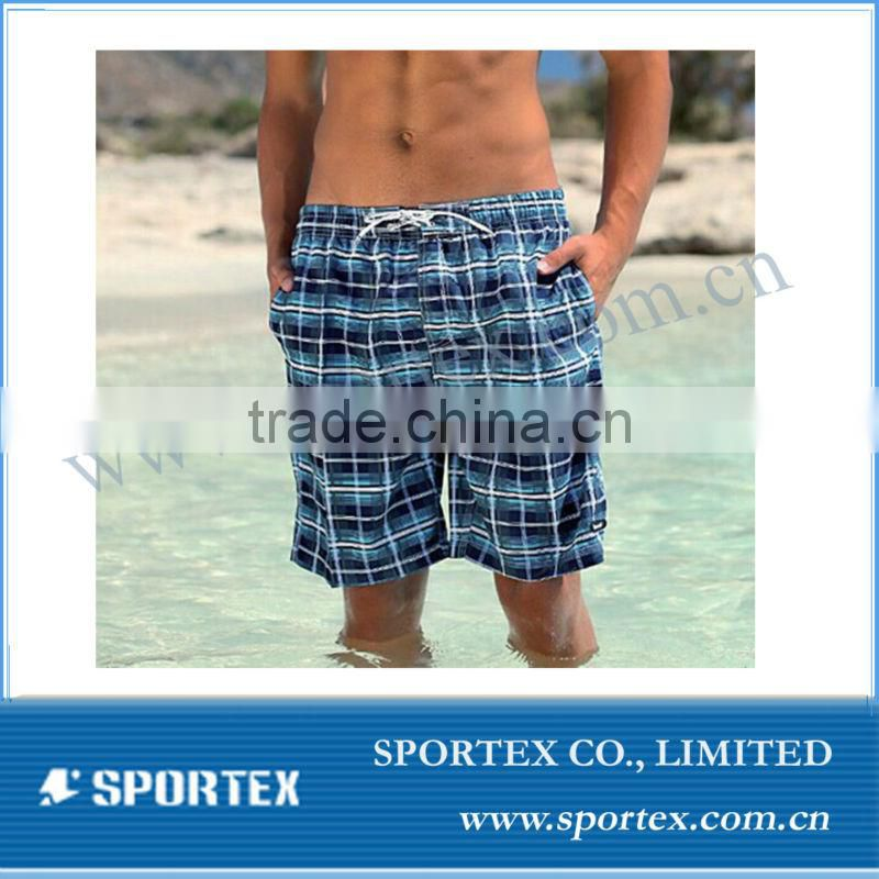 Mens blue beach shorts OEM, sport wear for beach, swiming shorts