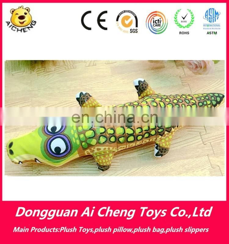 Lovely stuffed plush crocodile toys cute sea animal plush toys