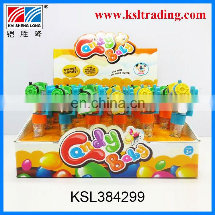 24PCS wind up tipcart candy toys 2014