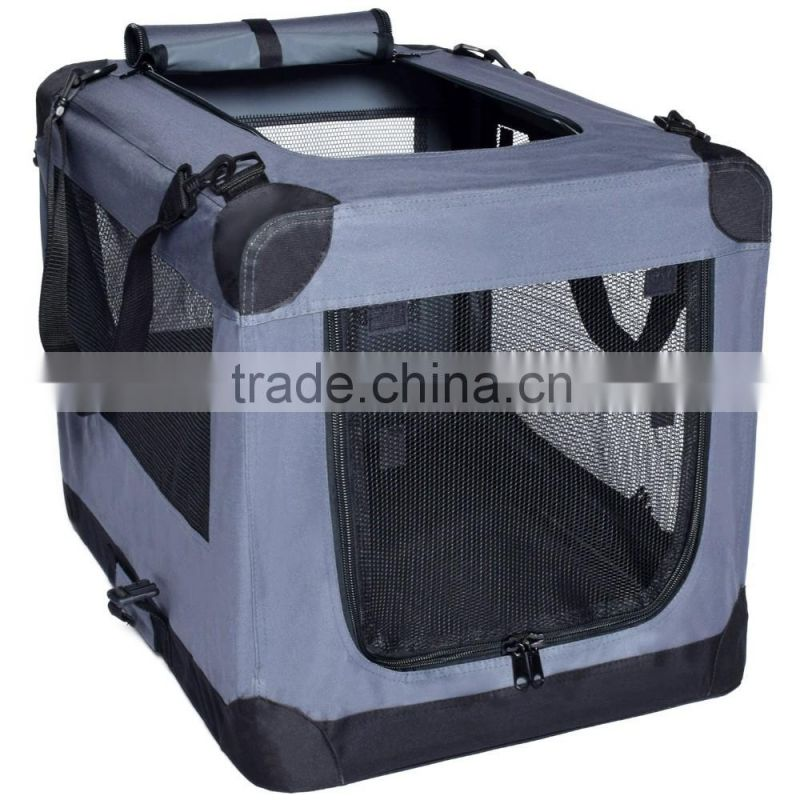 Premium Durable Collapsible Travel Pet Carrier