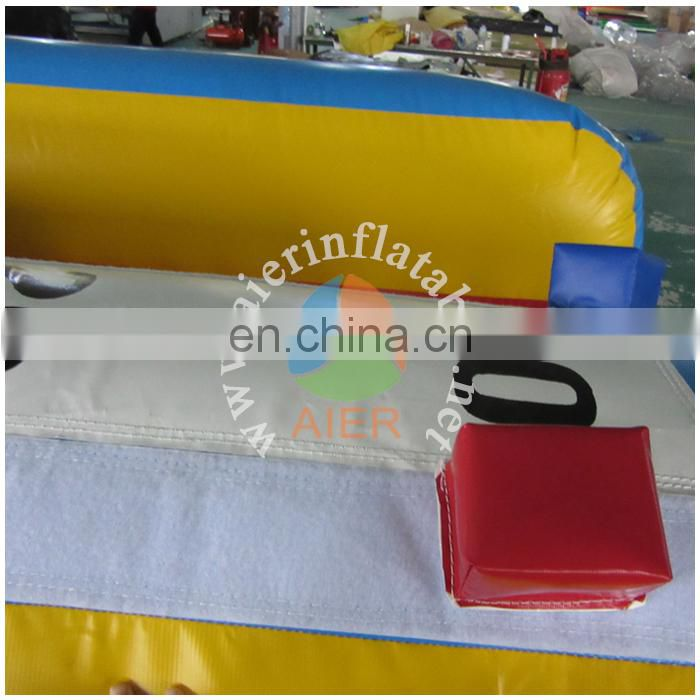 popular bungee run inflatable outdoor entertainment / cheap inflatable sports game