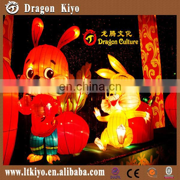 2016 amusement park lighting city cloth chinese lantern handmade purely