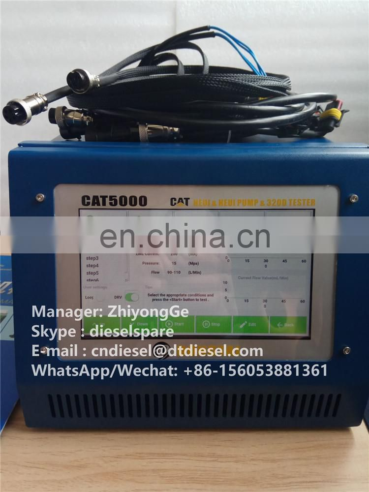 EUS5000 DIESEL EUI EUP INJECTOR TESTER WITH CAMBOX AND ADAPTORS