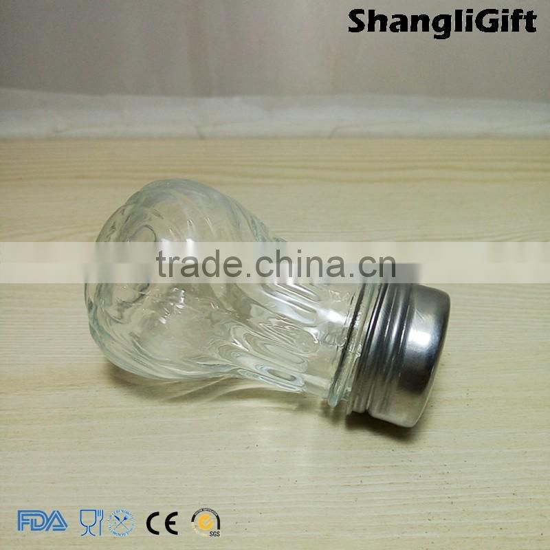 65ml Fancy Spice Bottle For Restaurant Glass Spice Tools