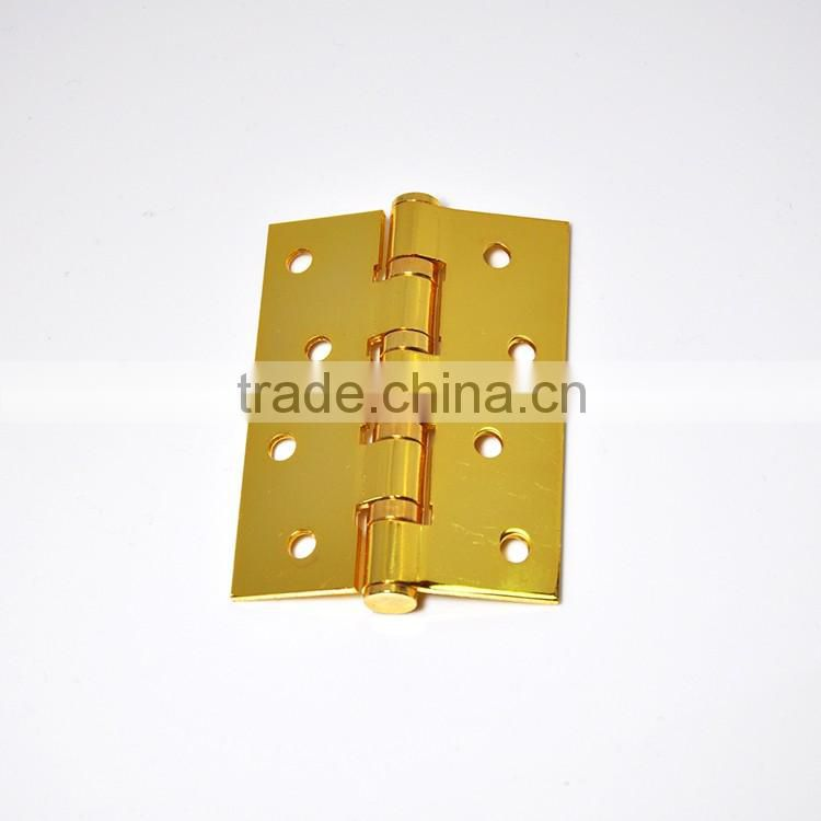 Types of Window Bright Brass Gold Ball Bearing Hinge