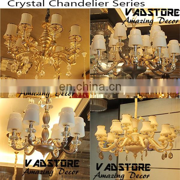 bronze mat gold luxury crystal chandelier k9 crystal chandelier