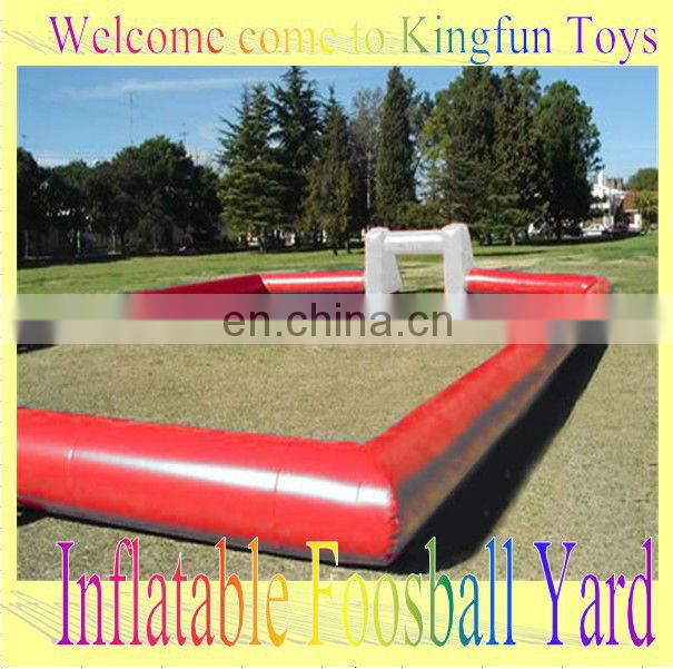 Rental inflatable soccer penalty cage ,football paly game