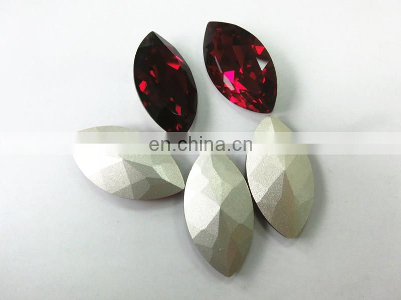 Siam horse eye Crystal Fancy Stone For Jewelry accessories