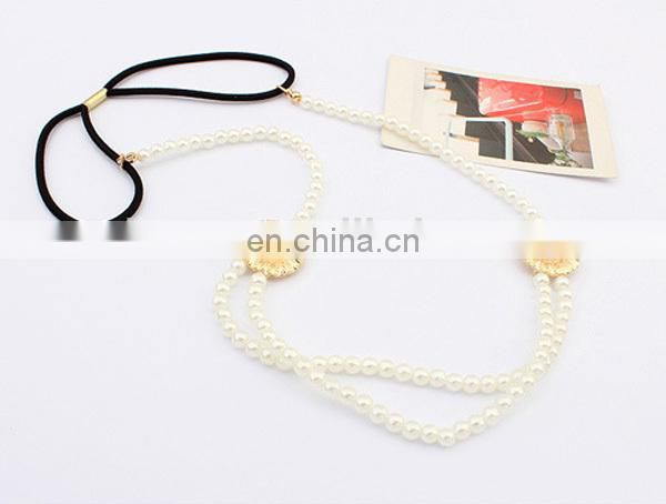 Newest girls fashion pearl hair accessory