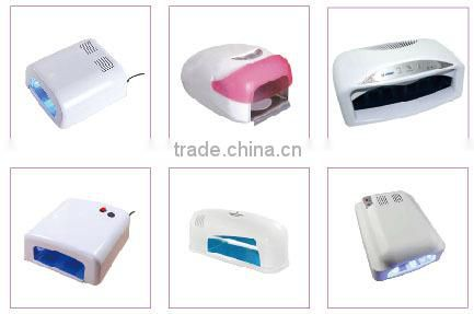 2015 hot selling Professional nail uv lamp gel LED 9W UV bulb