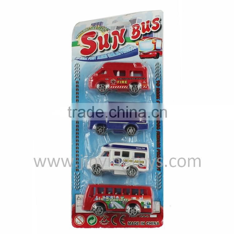 Various style plastic pull back toys car