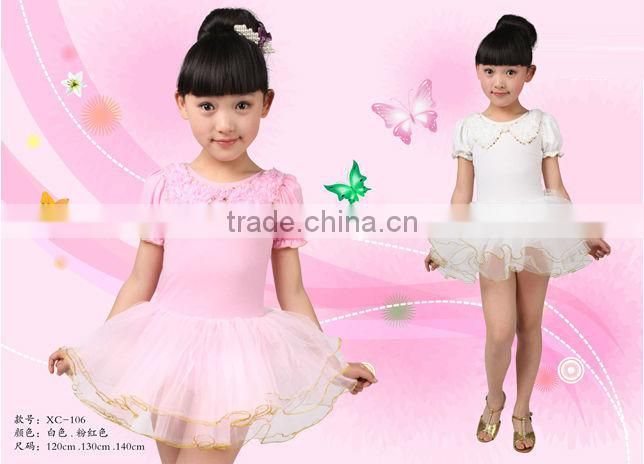 XC-106 Short sleeve kids clothes girls dresses party wear short dresses