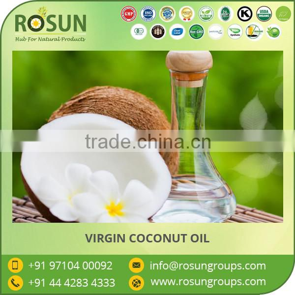 GMP Approved Organic Virgin Coconut Oil - Centrifuge Processed