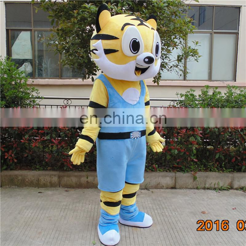 Factory direct sale customized daniel tiger mascot costume for children's party