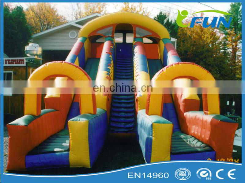 hot sell inflatable pool slide / inflatable slide with pool / inflatable swimming pool sldie