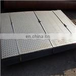 JUNNAN ss400 hot rolled steel checker plate load tables