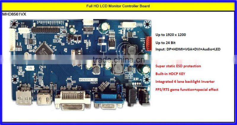 HDMI VGA USB AV TV to LVDS Full HD 32 inch LCD TV universal V59 main