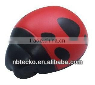 beetle shape PU foam stress
