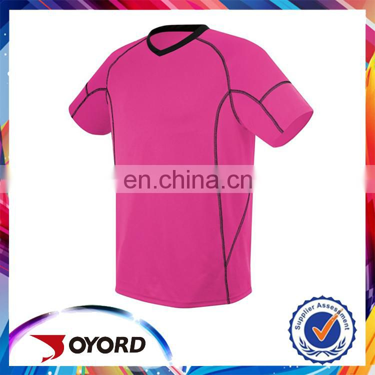 top quality sublimation football wear plain soccer jersey