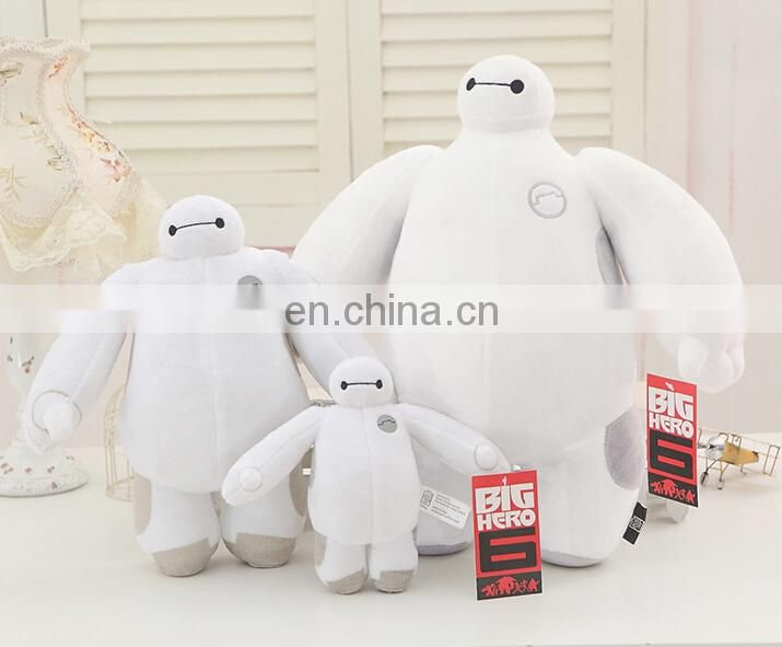 30cm Big hero 6 Baymax stuffed plush toys high quality