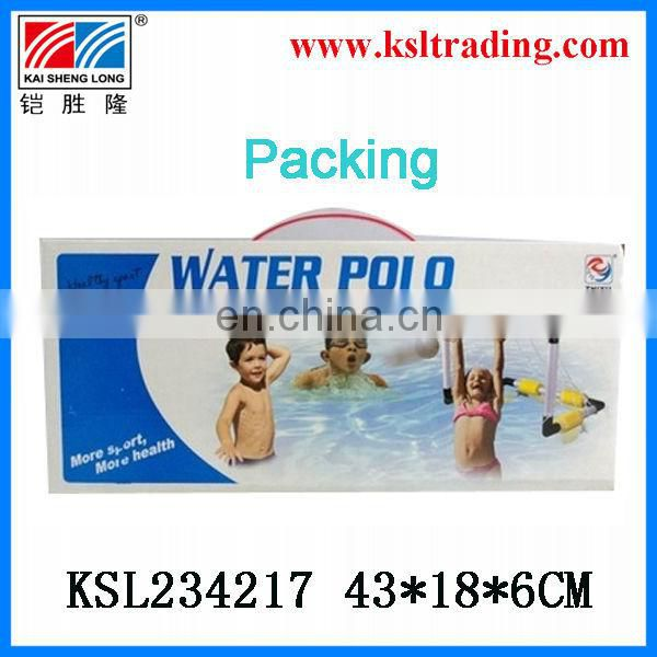 46*31*31cm children summer sport toy,football door toy,plastic toy water polo goal toy