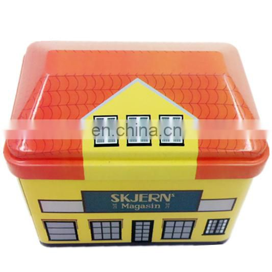 House-Shaped Cake Tin Lunch Box