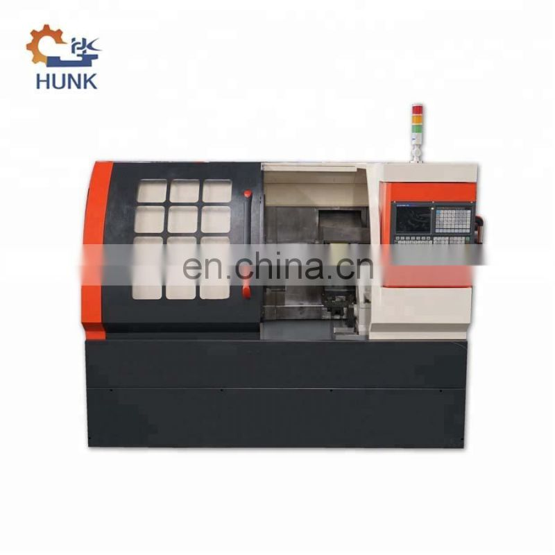 High Efficiency CNC Auto Bar Feeding Lathe Machine Image