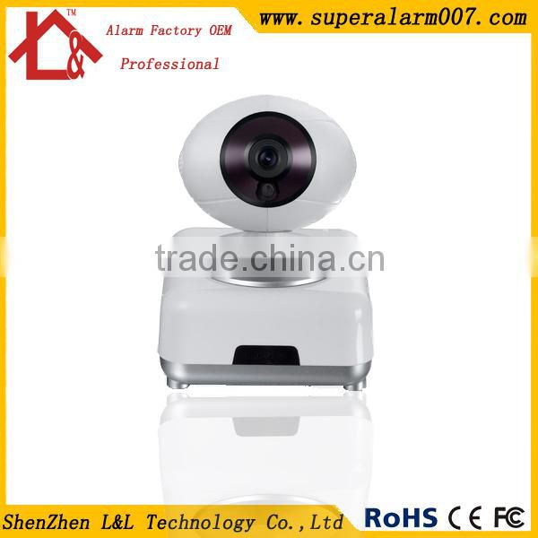 Infrared Night Vision Remote Control Home Security System Alarm Pan &Tilt IP Wireless Camera 720P Monitor Camera L&L-IP3
