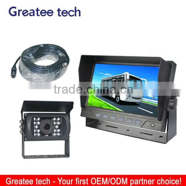 car rearview camera system for bus/truck with 4pin connector cable