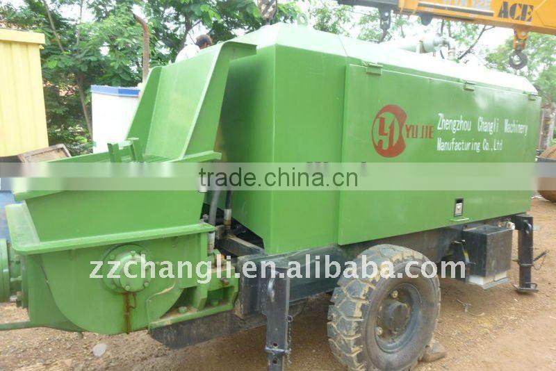HBT 60 13 130RSA concrete pump delivery pipe images