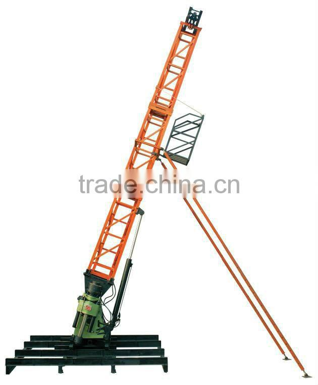 Rotary drilling,core rig---Hydraulic HF-44T water well drilling rig