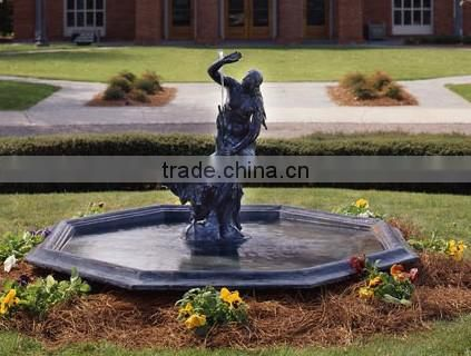 Metal craft victorian garden fountains for sale In Alibaba NTIF-018Y