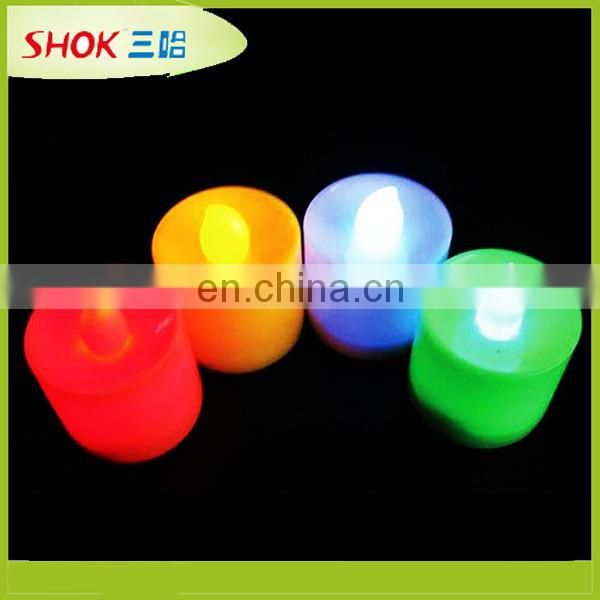 2016 Professional design led candle, sparkling birthday candle