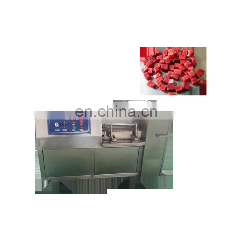 meat cube cutting machine automatic chicken dicer machine meat cube cutter Image