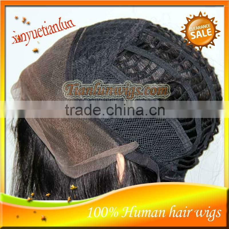 Fashional New style NIce Kinky Straight human hair Full Lace wigs&Lace Front wigs Natural Hairline with baby hair HOT!!!!