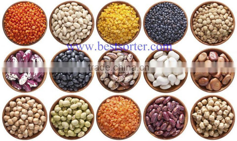 Good performance CCD mustard seeds color sorter machine