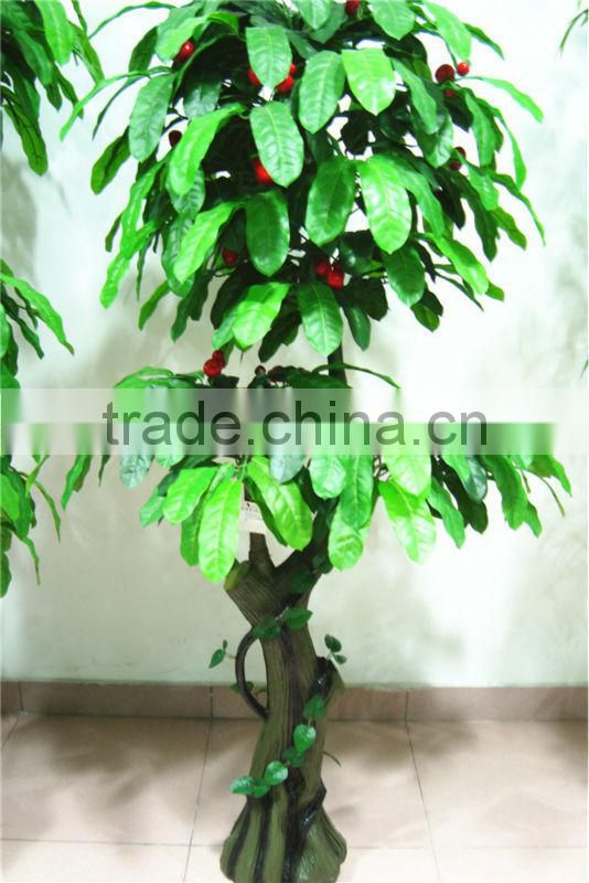 artificial green bonsai tree [BT-08]( ornamental foliage plants / plant bonsai flower/fruit tree of Este )